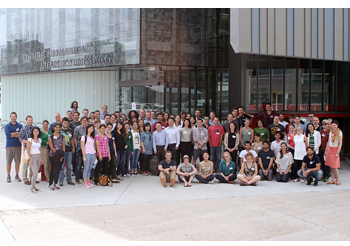 Group photo from the Ice Core Young Scientists workshop