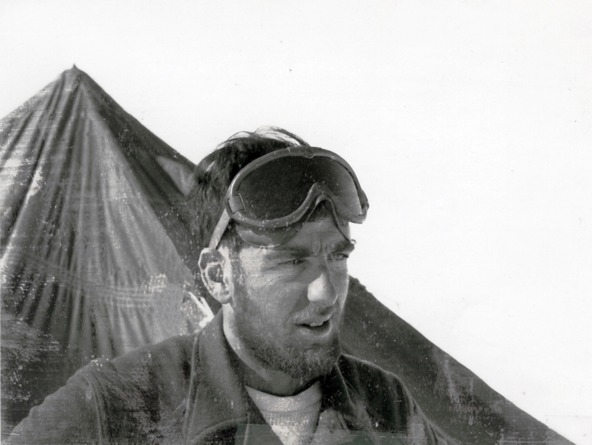 Tony Gow during IGY 1958