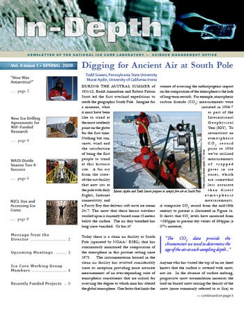 Image of newsletter cover